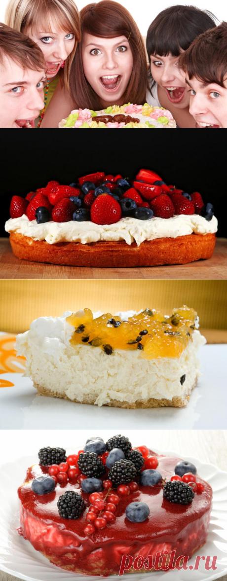 Как приготовить торт, который можно есть на диете? Три простых рецепта в Международный день торта | Еда и кулинария