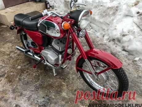 Полностью отреставрированный мотоциклJawa 350 typ 634-01: фото и описание мотоцикла. Представляем Вашему вниманию - мотоциклJawa 350 typ 634-01, 1978 года выпуска, восстановленный умельцем.