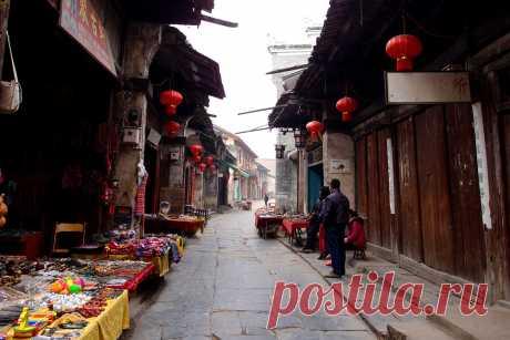 Древний город Дасю(Даксу)Daxu,大圩 (Гуанси)