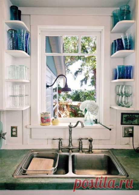 Идеи организации пространства маленькой кухни