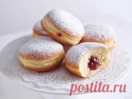 Берлинские пончики — Sloosh – кулинарные рецепты