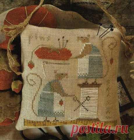 Забавная вышивка с мышатами в пастельных тонах — DIYIdeas