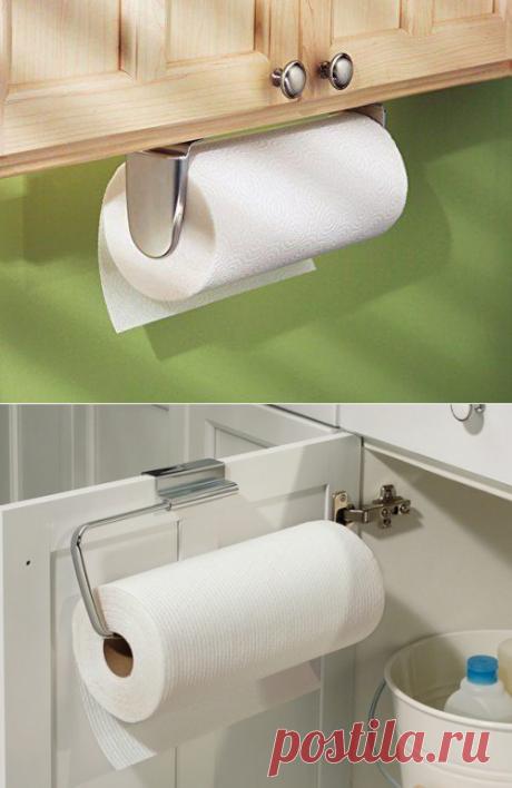 Как сделать держатель для бумажных полотенец