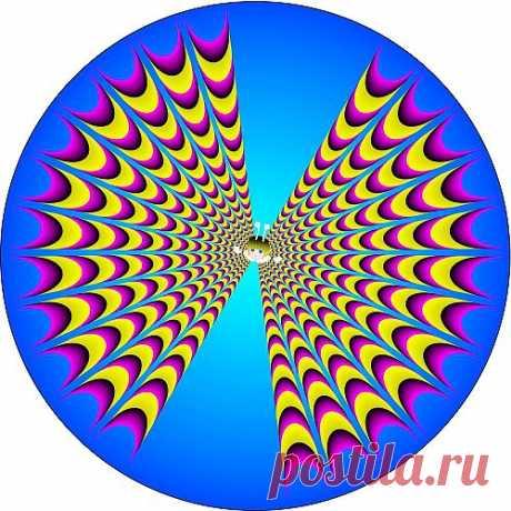 Картинки иллюзии, интересные картинки иллюзии Акиоши Китаоки, фото.