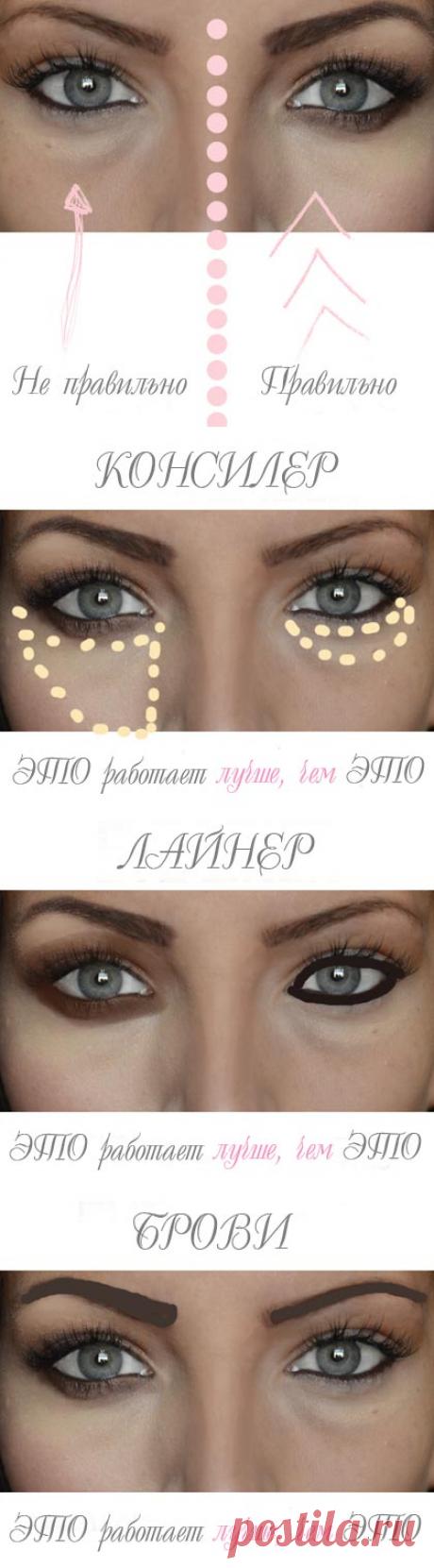 Как эффективно скрыть синяки под глазами