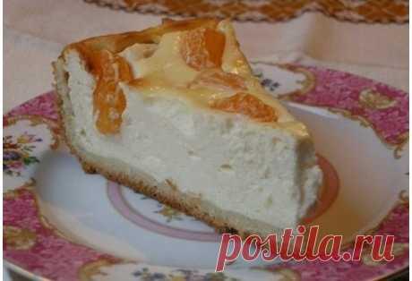 Пирог «Ноктюрн» к вечернему чаю от «самой обаятельной и привлекательной»… Нежнейший творожный десерт!