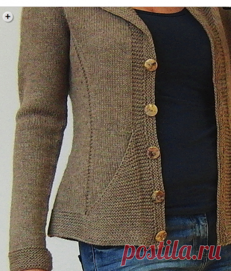 Ravelry: Triangle Jacket pattern by Hinterm Stein