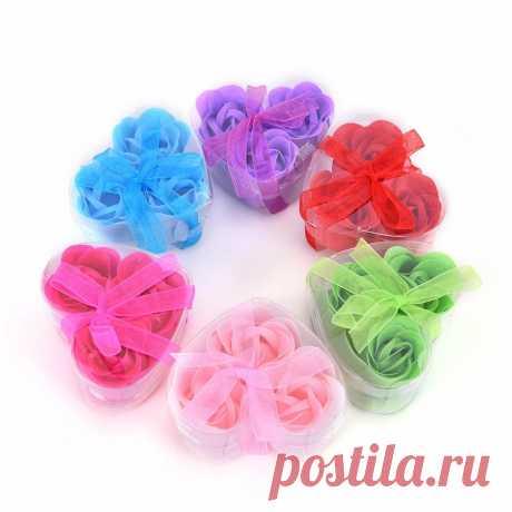 Ароматические тела ванны мыло в форме цветка розы мыло на день рождения, подарки ко дню Святого Валентина, романтичная Свадебная бонбоньерка для душа