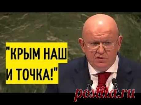 Небензя в ООН ставит на место НЕГРАМОТНЫХ европейцев!