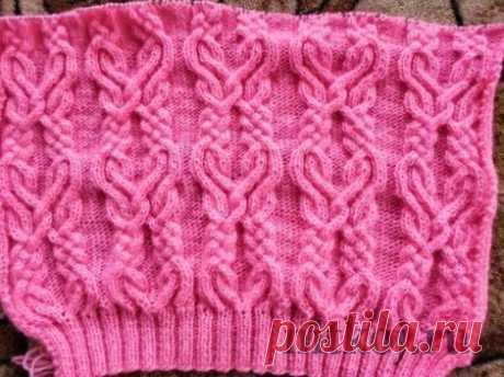 Красивый узор спицами » Ниткой - вязаные вещи для вашего дома, вязание крючком, вязание спицами, схемы вязания
