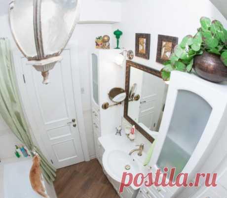 Ванная комната с органичным интерьером | Тысяча и одна идея