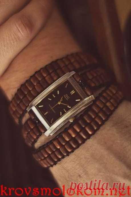 Как сделать (плести) браслет для часов в стиле Чан Лу (Chan Luu) своими руками. Фото. Мастер Класс. | krovsmolokom.net