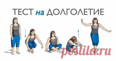 Тест на долголетие: несколько движений покажут, сколько осталось вашему телу Обычно необходимо сделать множество анализов, чтобы узнать, насколько хорошо функционирует наш организм. Но бразильский ученый Клаудио Гиль Арауджо разработал один простой тест, который, как он
