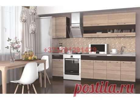 Кухня Маша (дуб сонома/венге) 2,0 м : купить в Минске недорого, низкие цены, скидки, рассрочка