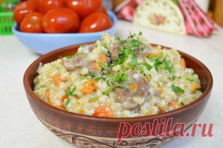 Вкусное блюдо из перловки | Марина Ломака | Яндекс Дзен