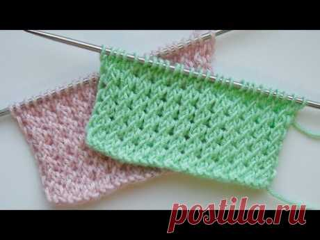 Простой узор «Мелкий жгут» очень универсальный, подойдёт для вязания от шарфика до свитера для детей и взрослых. Рапорт узора 2 петли и 2 ряда. Для образца н...