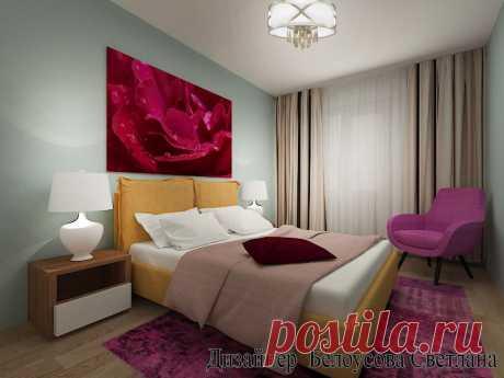 3  д визуализация спальни