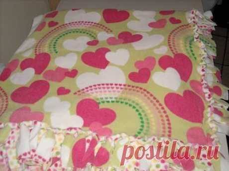 Наволочка для подушки за 30 минут без шитья