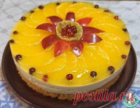 Творожно-апельсиновый торт – кулинарный рецепт
