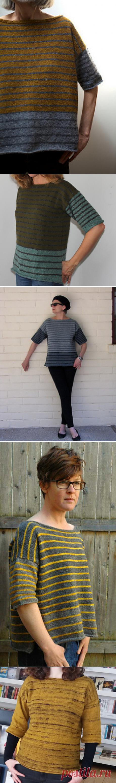 Ravelry: Tweedy--Stripey pattern by Leslie Weber