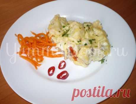 Запеканка с фаршем и цветной капустой из мультиварки - пошаговый рецепт с фото
