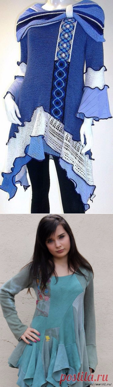 Без заголовка Не выбрасывайте старые свитера-грандиозная переделка.