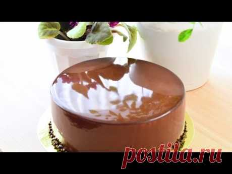 El glaseado de espejo del cacao ☆ Mirror Glaze cocoa