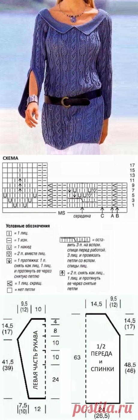 3 стильных пуловера для роскошных женщин (с описанием и схемами)   Идеи рукоделия   Яндекс Дзен