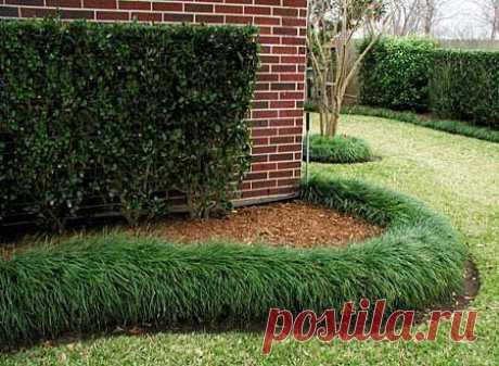 Садовые ограждения для грядок и клумб — идеи заборчиков для цветников.