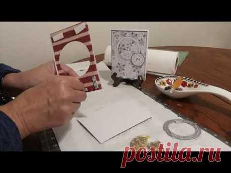 МК для новичков. Еще одна Новогодняя открытка - запись пользователя Octyabrina66 (Лилия Перепёлкина) в сообществе Новый год в категории Открытки и упаковка