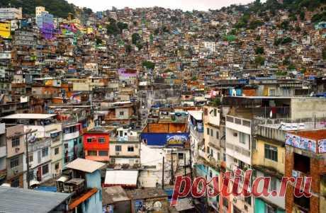 Фавелы Сан-Паулу — Путешествия