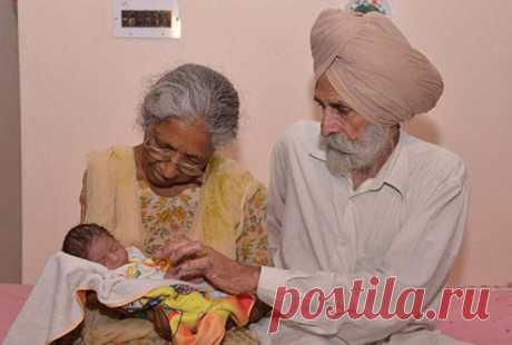 Зачем 72-летняя индийская женщина родила первенца: