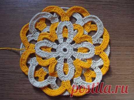 ergahandmade: Crochet Braid Motif + Free Pattern Step By Step