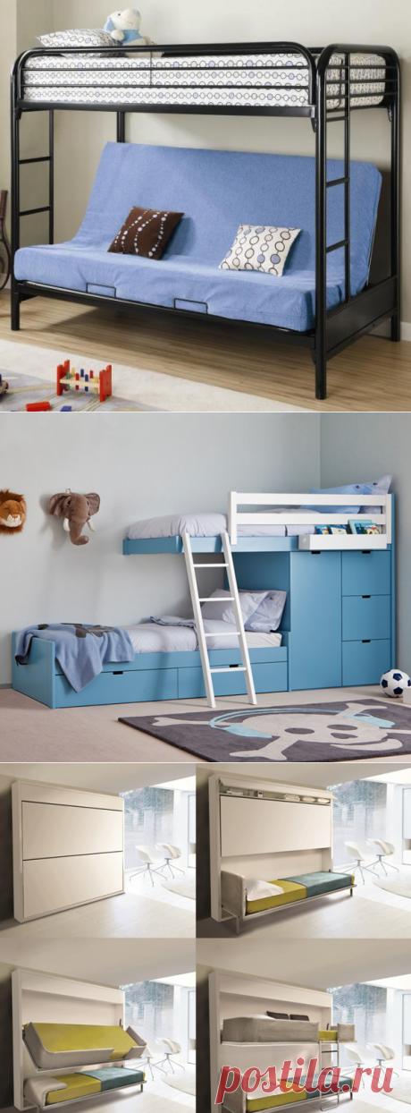 Двухъярусная кровать - фото 13 идей кроватей для детей