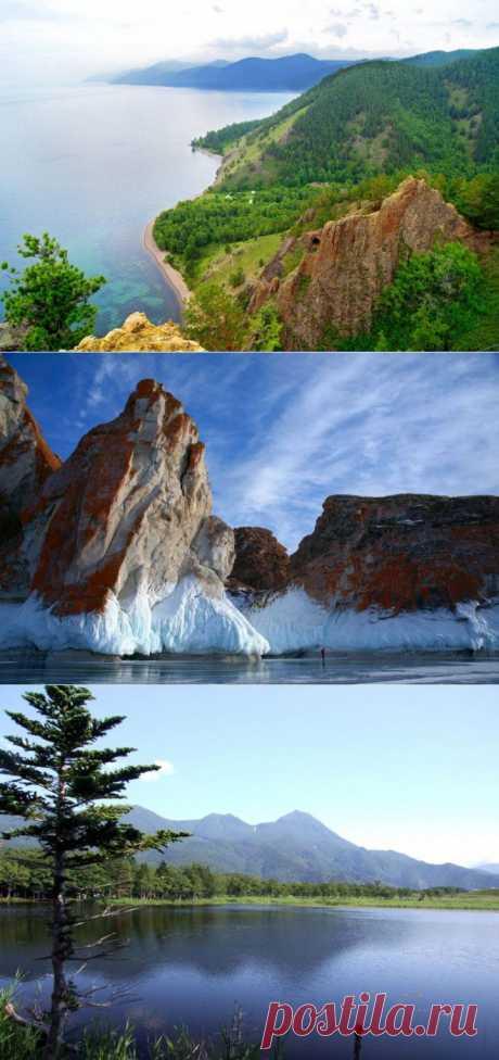 Наш красавец Байкал | Улетные картинки