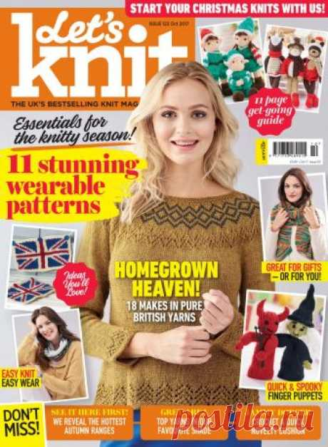Let's KNIT ISSUE 123 October 2017