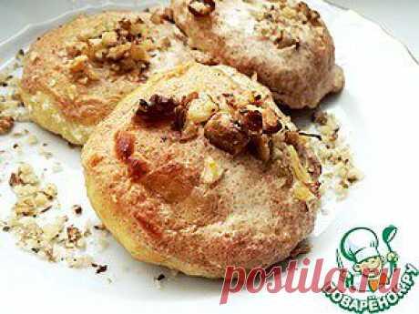 Сырники, запечённые в йогурте с корицей и грецкими орехами - кулинарный рецепт