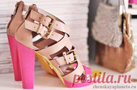 Как самостоятельно обновить обувь? Делаем стильные босоножки — Планета и человек