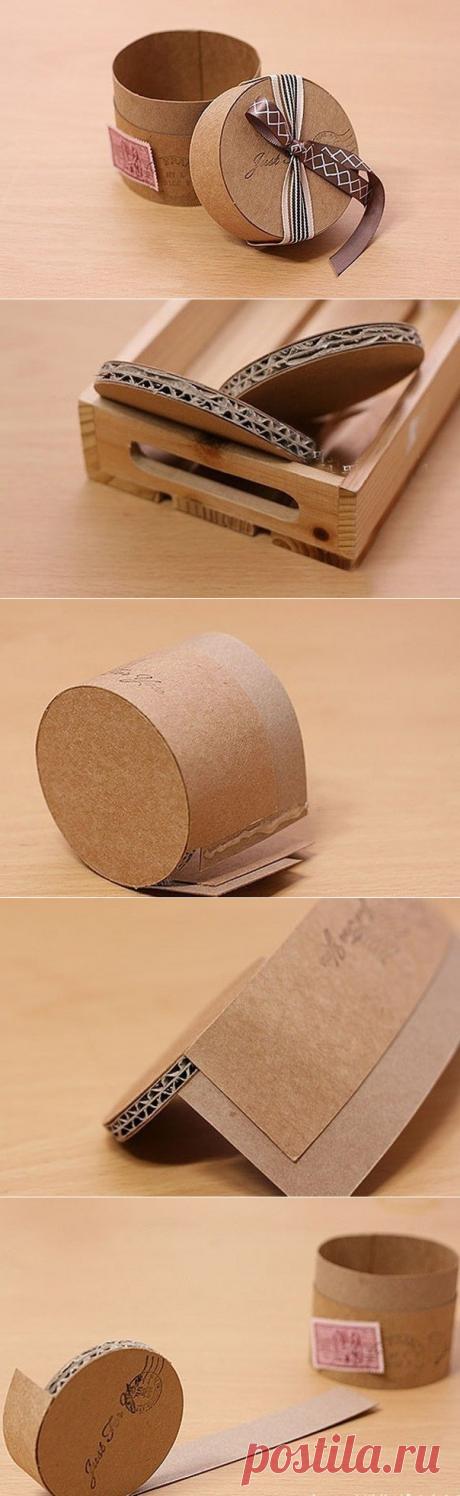 Коробочка для подарка. — Сделай сам, идеи для творчества - DIY Ideas
