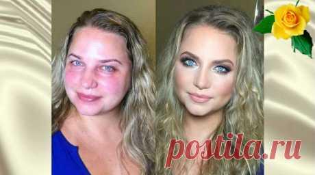 Визажист с помощью макияжа преображает девушек — Калейдоскоп чудес