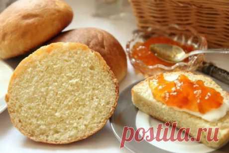 Булочки к завтраку из дрожжевого теста - Сладкие пироги и кексы