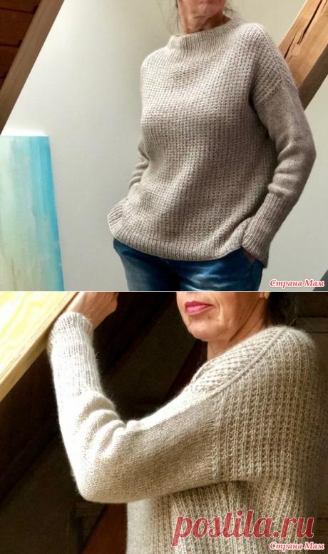 Свитер Sixty years ot wollweg knits спицами - Вязание - Страна Мам