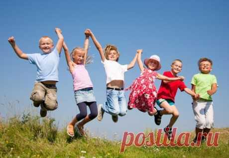 Развлечения для детей на свежем воздухе!