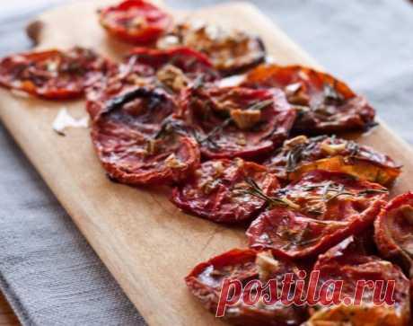 Вяленые помидоры — Sloosh – кулинарные рецепты