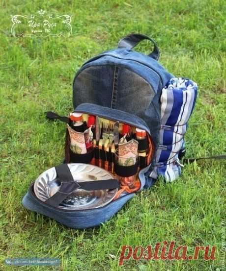Рюкзак для путешествия: мастер-класс — Сделай сам, идеи для творчества - DIY Ideas