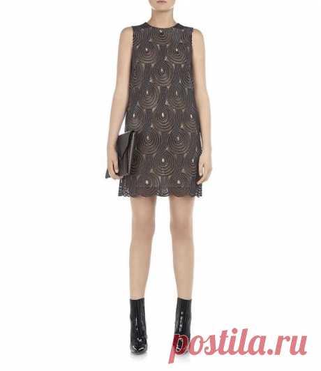 Кружевное платье или юбка крючком
