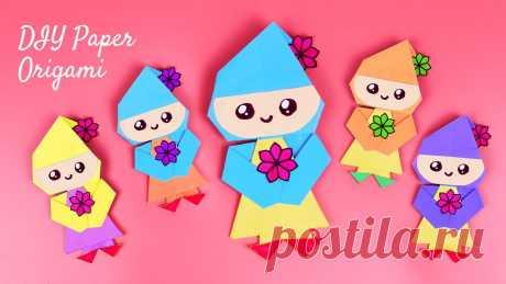 🎎DIY Кукла из бумаги 🎎 Как сделать оригами куклу своими руками 🎎 Легкие поделки 🎎Origami Paper Doll 🎎 Привет! Сегодня я покажу, как сделать куклу из бумаги своими руками. Оригами для начинающих - это классные поделки! Бумажные куклы – одно из самых популяр...