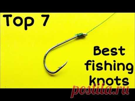 Как привязать крючок к леске | лучшее рыболовные узлы для рыбалки | как завязать узел на рыбалке - YouTube
