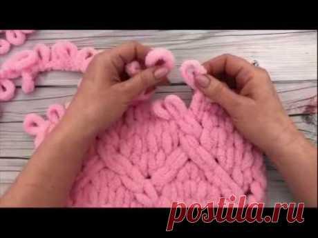 Как легко соединить нить Ализе Пуффи без узла и сшивания. Мастер-класс от Mother's Knitting - YouTube