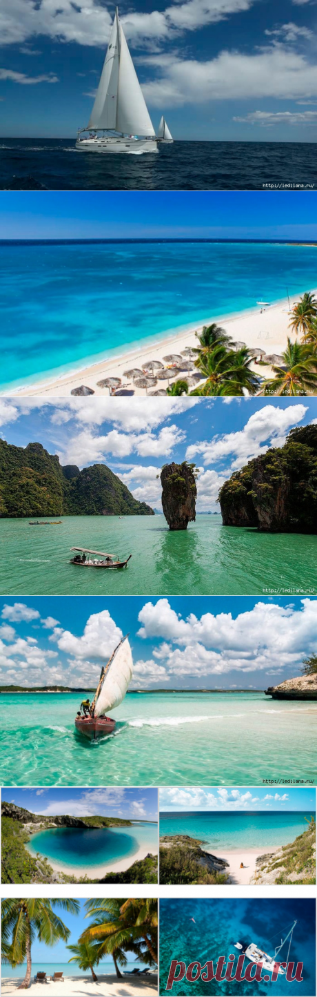 5 шикарных мест на планете для путешествия на яхте